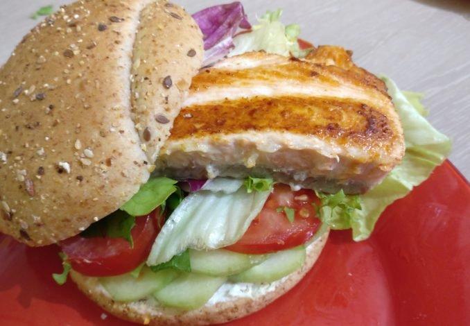 Hamburger de saumon