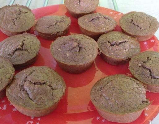 Muffins choco-banane