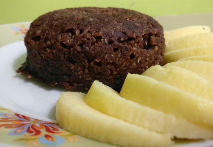 Bowl cake banane chocolat