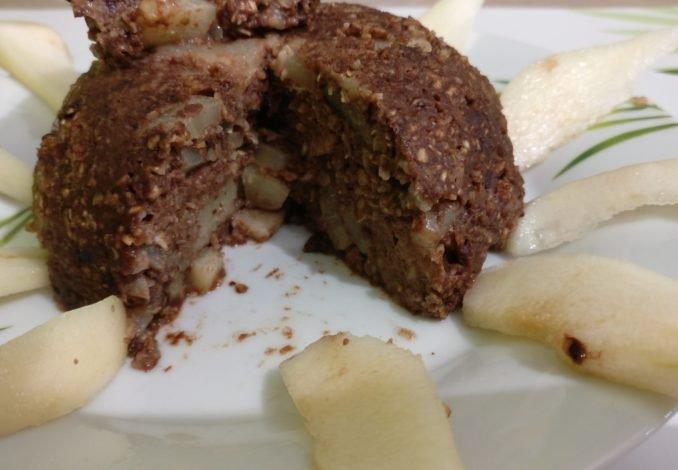 Bowl cake poire-choco