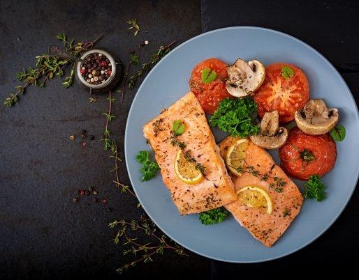 Papillotes de saumon et champignons ww (0sp)